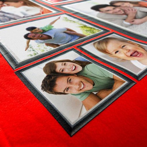 Fleece tæppe med foto tryk 1 side